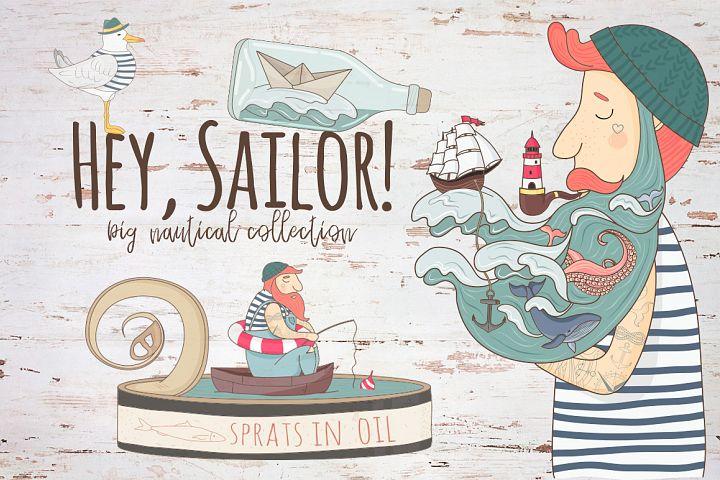 Hey,Sailor!Nautical collection