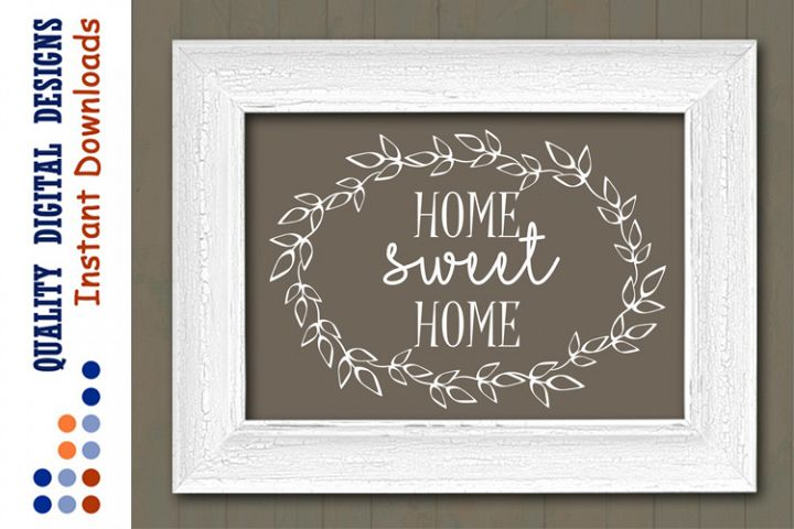Home sweet home sign svg files sayings Ranch decor Rustic