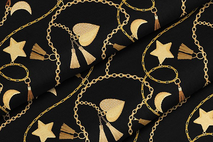 Chains and Belts Seamless Patterns. Set 5 example image 4