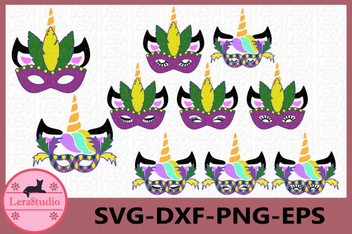 Unicorn Mardi Gras Svg, Mardi Gras Clip Art, Unicorn SVG