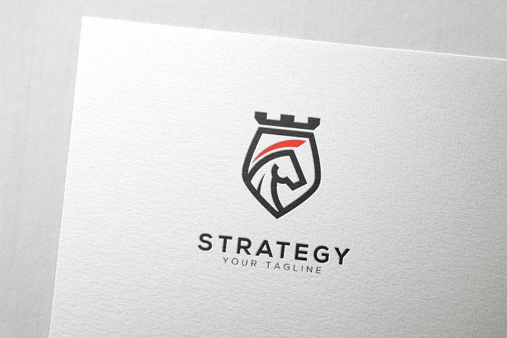 Knight Chess Strategy Logo