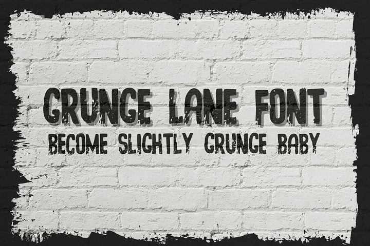 Grunge Lane Font