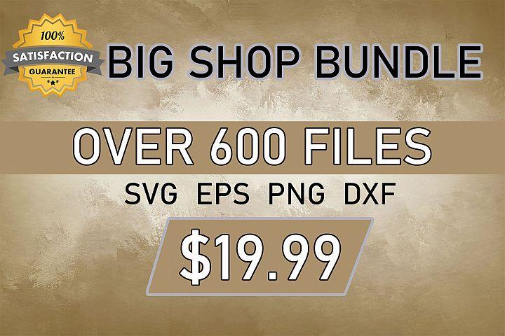 Big Shop Bundle Set SVG PNG EPS, Bundle Svg Files