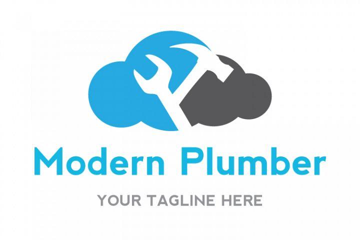 Modern Plumber Logo