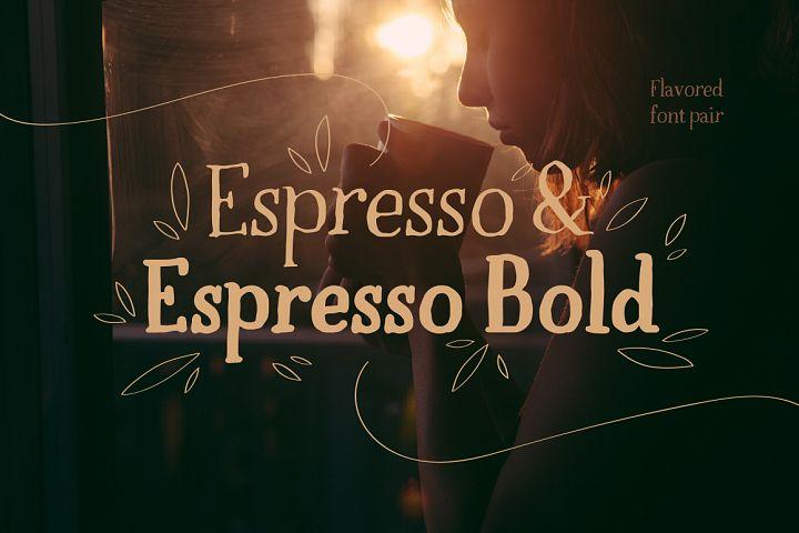 Espresso & Espresso Bold