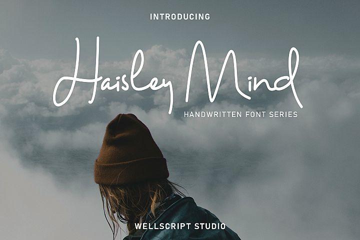 Haisley Mind - Handwritten Script