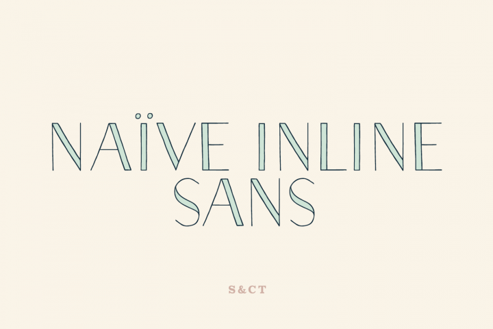 Naive Inline Sans Family
