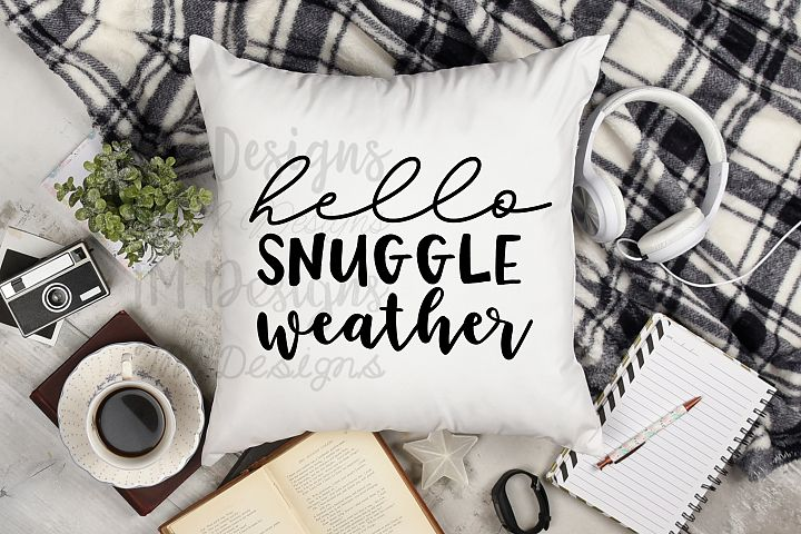Hello Snuggle Weather SVG