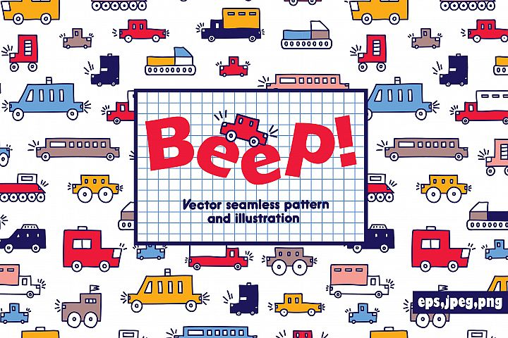 Beep! Cars for boys!