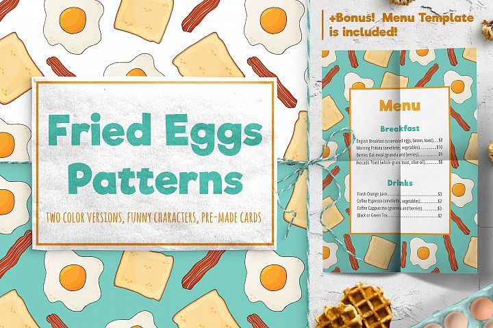 Fried Eggs Patterns