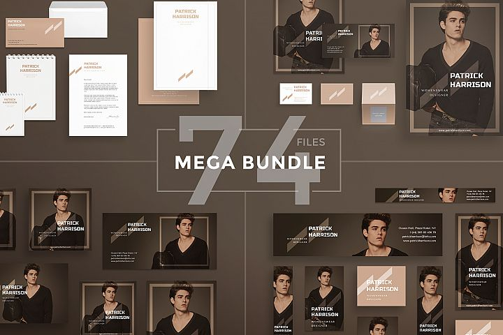Womenswear Fashion Collection Design Templates Bundle