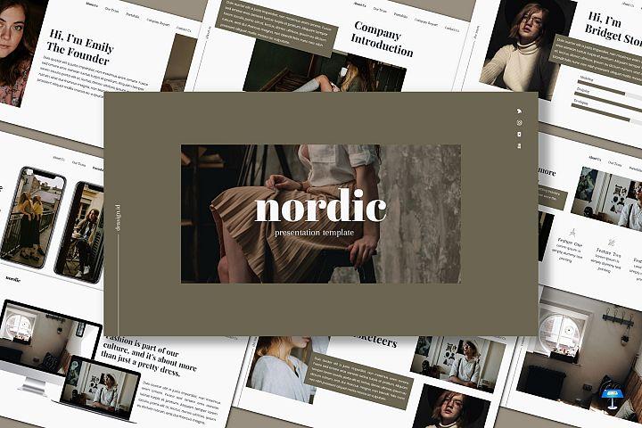 Nordic - Keynote Template