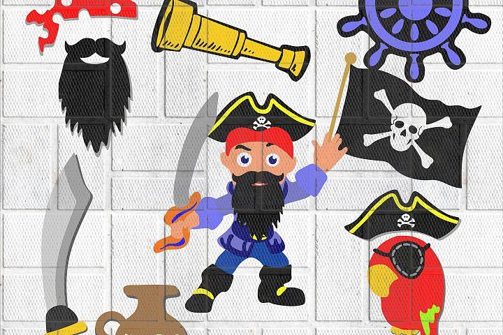Pirat SVG, EPS, DXF, PNG, JPG