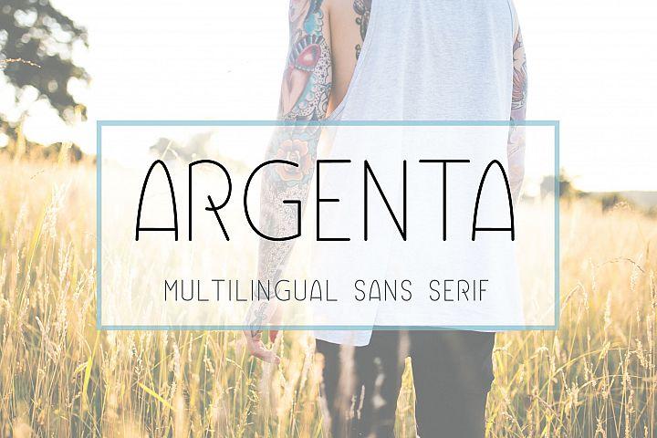 Argenta | Multilingual Sans Serif