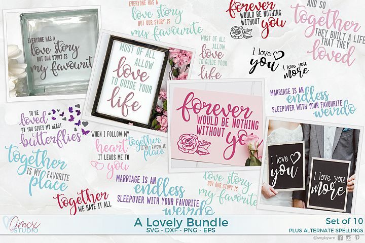 Lovely Bundle - Love Quotes