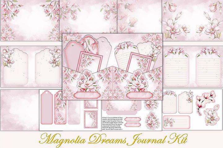 Printable Journal Kit with free Ephemera and Clipart