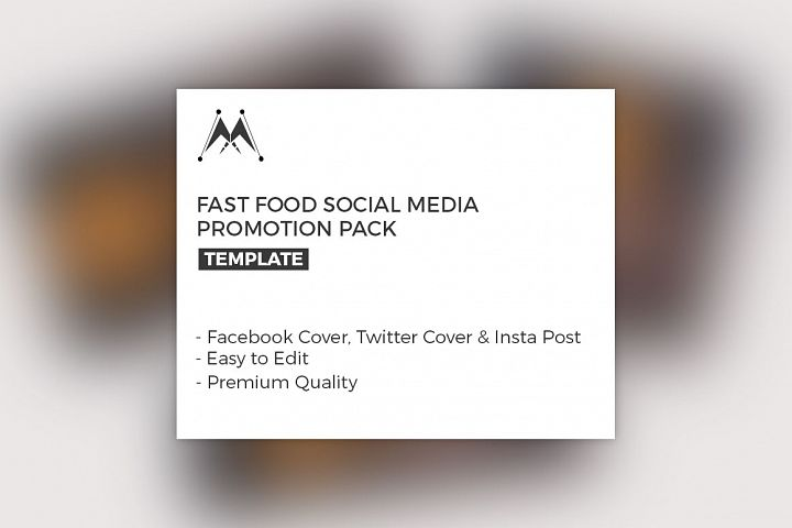 Food Promotion Social Media Pack