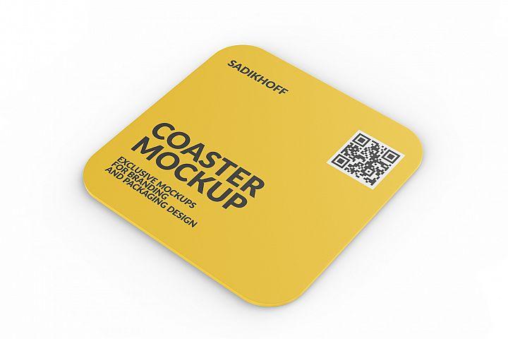 Coaster Mockup