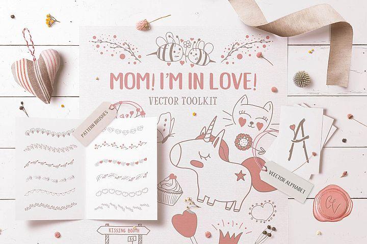 Mom! Im in Love! Vector Set