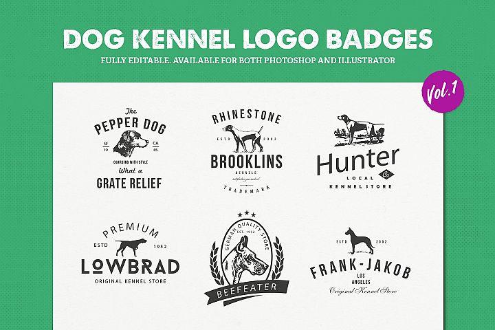 Dog Kennel Logo Badges Vol.1 / Dog Logo / Dog Shapes