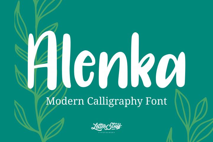 Alenka Handlettering Font