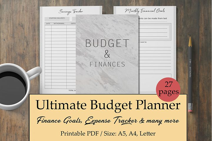 Finance Planner, Budget Planner, Bill Tracker