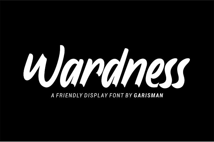 Wardness Dispay Font