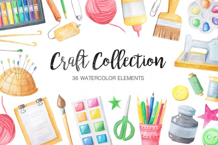 Watercolor Craft Collection  example
