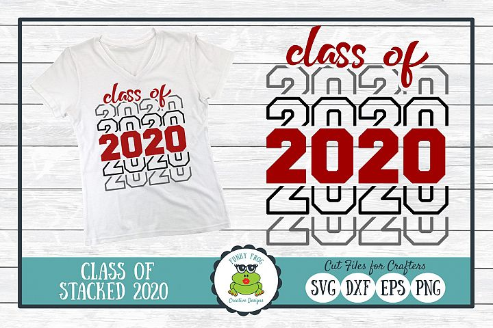 Class of 2020 Graduation SVG Cut File for Crafters