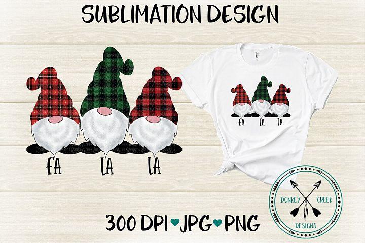 Hand Drawn Christmas Gnomes PNG