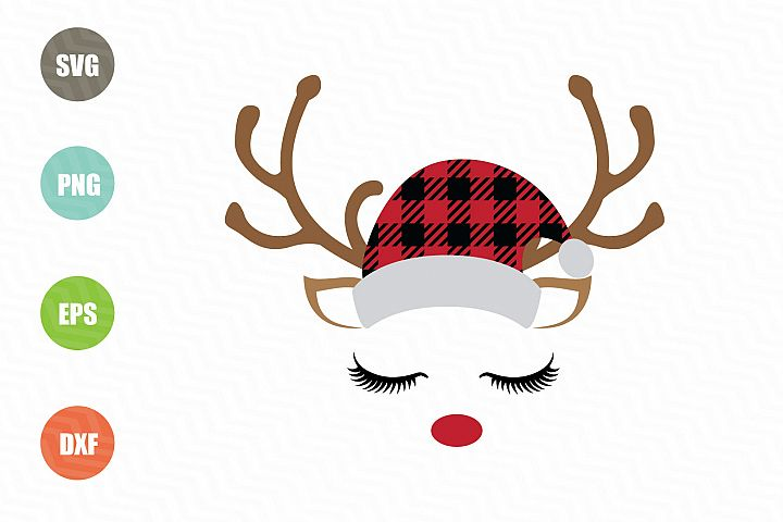 Cute Christmas Reindeer SVG