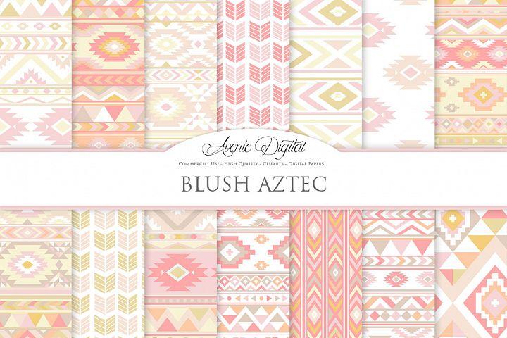 Blush Boho Seamless Pattern