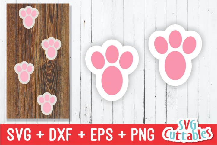 Easter Bunny Feet | Easter svg Cut File