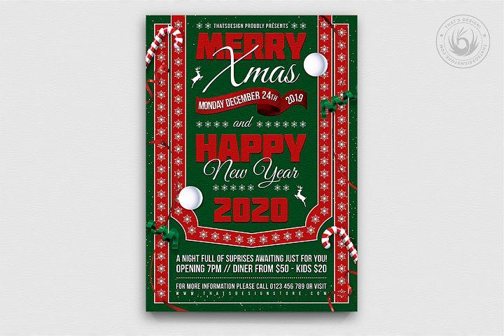 Christmas Eve Flyer Template V10