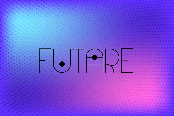 Futare - Thin Futuristic Capital Font