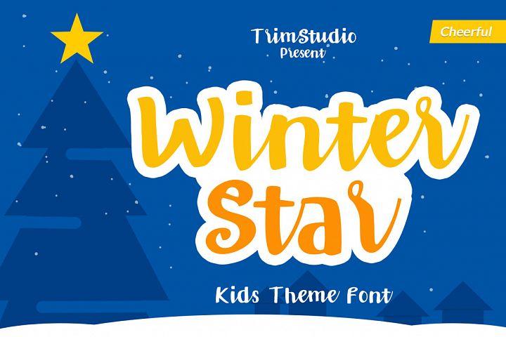Winter Star - Playful Handwritten Font