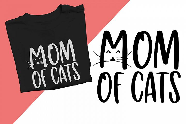 Mom of cats Printable