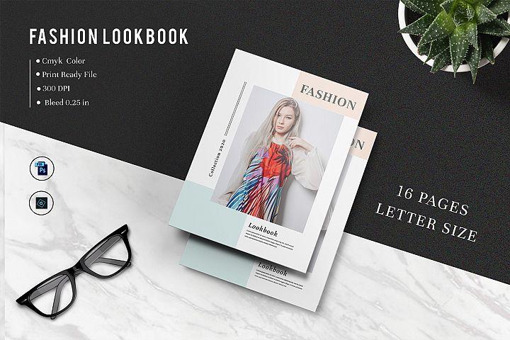 Fashion Lookbook, Magazine Template | Photoshop Template