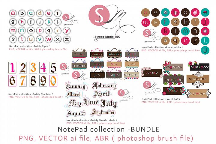 Notepad Collection Bundle