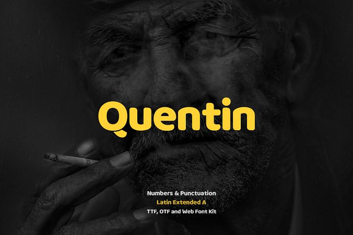 Quentin Pro Typeface & Webfonts