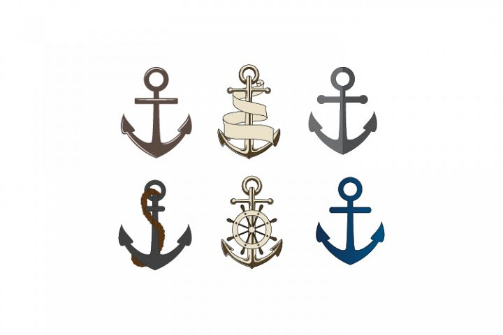 Anchor SVG, DXF EPS
