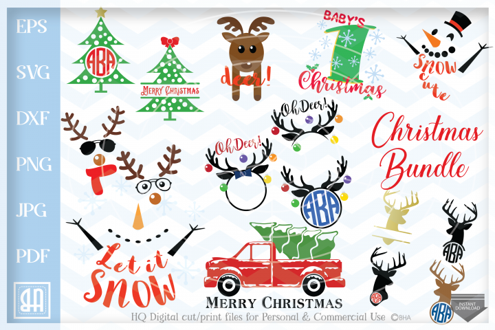 Christmas bundle SVG, Christmas designs Bundle SVG
