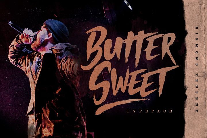 Butter Sweet Typeface