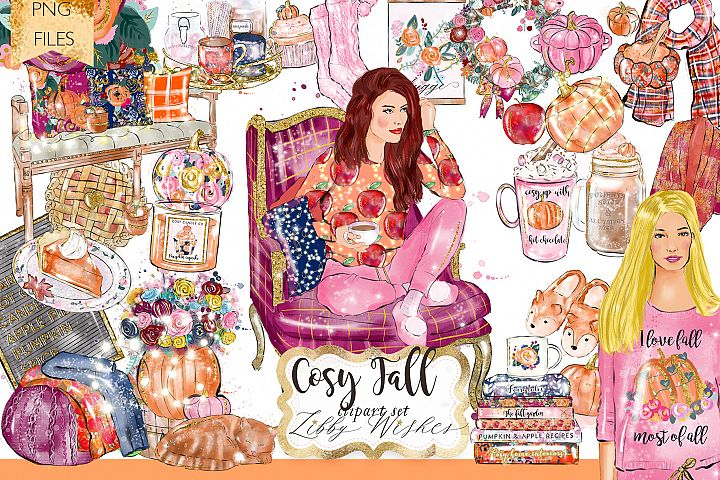 Cosy Autumn Fall clipart