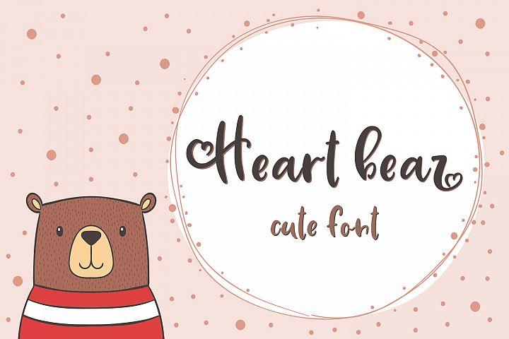 Hear Bear Font