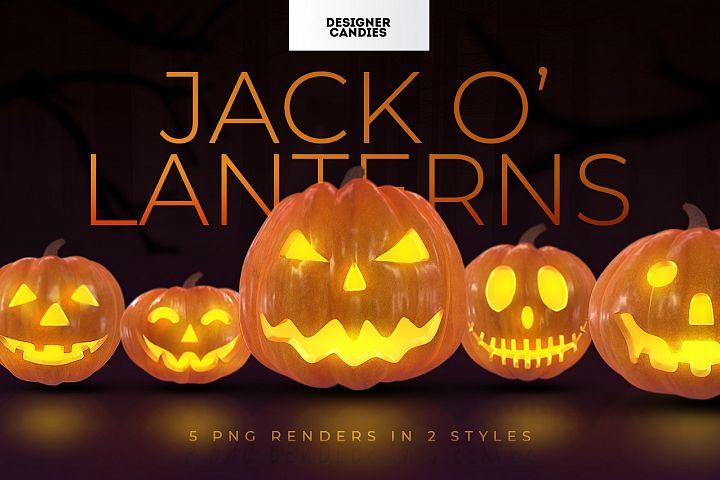 Halloween Pumpkin PNGs