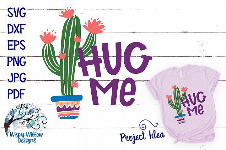 Hug Me Cactus SVG