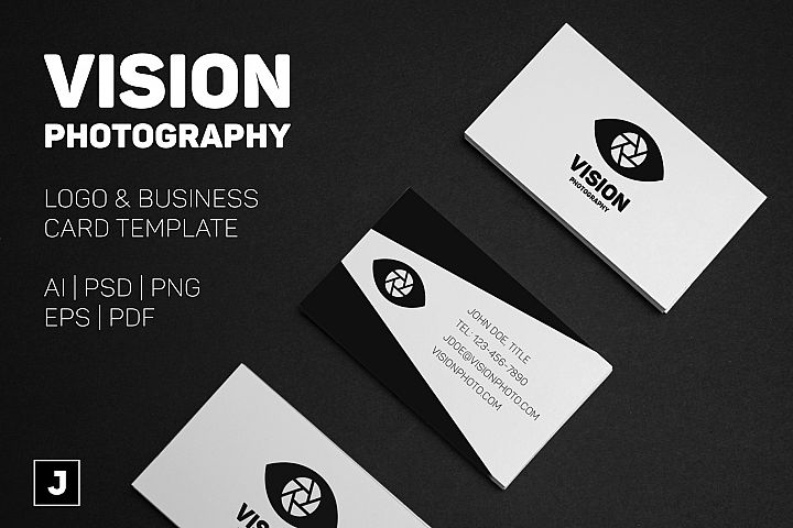 Vision Photo Business Card Template