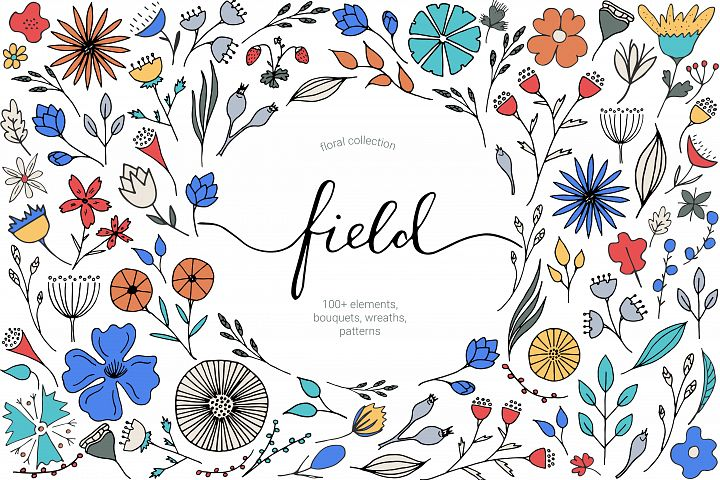 Floral Collection Field