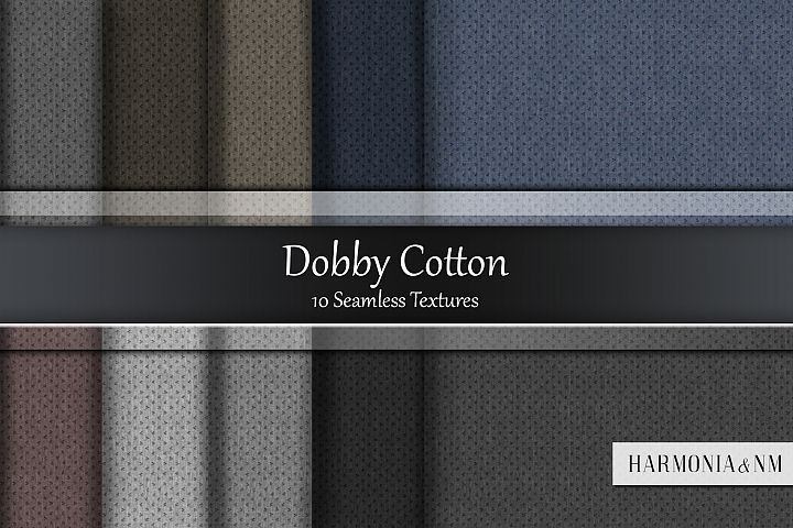 Dobby Cotton 10 Seamless Textures